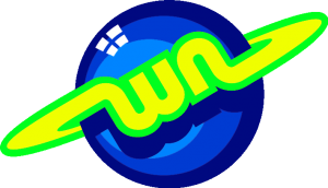 WN LOGO blue green yellow